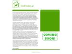 Αρχική - EcoFinder. gr - Portal για το περιβάλλον ειδήσεις, εταιρείες, άρθρα, γλωσσάρι, videos