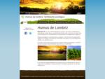 BIOHUMUS SC, ayudamos a la naturaleza, respetando el medio ambiente, humus lombriz Zaragoza, ven