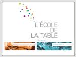 L'Ecole de la Table, cours de cuisine, ateliers d'oenologie et arts de la table | evenements entr