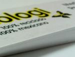 papeles 100 reciclados y 100 nacionales, fabricados con materiales post-consumo, como archivo muer