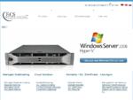ECS-Webhosting - Web Hosting Vserver VPS Root Server Managed Server mieten Terminalserver Windows Li