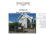 Welcome to Eden Lodge Oamaru bed and breakfast