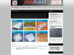 EdilPlast snc - Produzione e commercializzazione prodotti in marmo-resina, gocciolatoi, coprimuro, ...