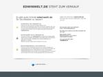 Edwinwelt Infos www. edwinwelt. de