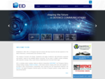 EID is one of the leading high-tech industries in Portugal, with a proven record and solid know-how