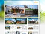 Montované domy EKOLINE | nízkoenergetické stavby, chaty a bungalovy na kľúč