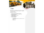 Eko-Mir Głogów - Produkcja urządzeń na składowiska odpadów, prasy do odpadów, konstrukcje stalowe