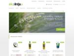 ekolinija. lt - ekologiški produktai, ekologiška kosmetika, kosmetikos gamybos priemonės
