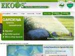 Trawniki z rolki, nawadnianie Szczecin, systemy nawadniania ogrodów, usługi ogrodnicze - Ekoos .
