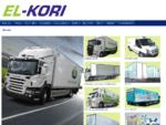 EL-Kori -kuljetuskorit. Kylmä- ja pakastekorit, juomakuljetuskorit, kontit, perävaunut ja pakett