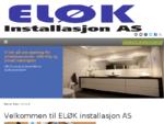 Velkommen til ELØK installasjon AS   ELØK installasjon - Otta, Vinstra og Fåvang