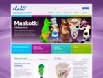 producent strojów reklamowych, maskotek i gadżetów oraz akcesoriów kibica - elabika