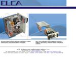 ELCA Novara Elettromeccanica Quadri elettrici per centrali impianti industriali