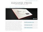 ELEGANTE PRESS | Dizaino ir elegantiškos spaudos studija