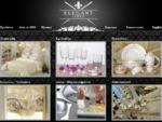Elegant Lines λευκά είδη προικός λίστα γάμου, πορσελάνες, κρύσταλλα, μαχαιροπίρουνα, σκεύη, ...