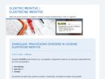Električne meritve | Elektro meritve