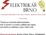 Elektrikář Kuřim, elektrikář Čebín, elektrikář Tišnov, elektrikář Předklášteří, elektrikář Štěpá