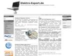 Elektro-Export. de - Notebook Display Reparatur, Laptop Reparatur, IPhone und IPad Reparatur ..
