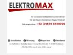ELEKTRO-MAX Elektriker Vöcklabruck Regau Timelkam