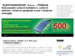 Solarni kolektori, solarno grejanje, solarna energija, paneli - ELEKTROMONTER Srbija