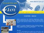Andrzej Jany Elektryk - usługi, instalacje, Chorzów, Katowice, Bytom, Śląsk