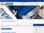 Avtomatske in ročne avtopralnice, gradbeni sistemi in nepremičnine | Elesprom inženiring
