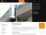 Ascensori e Piattaforme elevatrici Elfer - Produzione, vendita e manutenzione