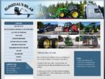 Elinedals Bil AB | bilar, maskiner, traktorer, försäljning, uthyrning, begagnat
