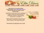 Elite Decor Producent Świec Dekoracyjnych i Ozdobnych