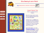 Elna Sewing Jans Patch - For all your sewing machine, craft and hobby items