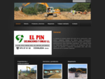 El Pin excavaciones y obras - Excavaciones, Obras y Hormigones en Soria