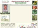 ElPortugues Alquileres en Piedralaves (Ávila-España)