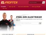 Din elektriker i hele Norge - Finn din lokale elektrike raskt her - ElProffen