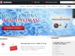 Katilai, šilumos siurbliai, saulės kolektoriai, oro kondicionieriai, šildymo įranga | Elstava