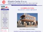. ELZETT CERTA d. o. o.. Subotica - Brave i Bravice, Ukrasne kvake, Zvekiri i WC oznake, Cilind