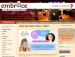 Embrace Australia - Crystals, New Age and Spiritual Gifts, Aromatherapy, Incense, New Age Books