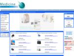 Medicine spletna trgovina z medicinsko opremo za bolnišnice, zdravstvene domove in vsak dom