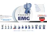 EMG PRESSES - Des arguments de poids pour votre productivité