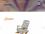 Võru Empak on kodumaisel kapitalil põhinev pehmemööbli tootmise ettevõte. Alustasime diivanite toot