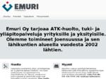 Emuri ATK-tuki - ATK-huolto - Tietokoneiden myynti - Kannettavat - Joensuu - Ylämylly