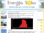 Sončne celice za elektriko v solarnih sistemih - VELOG d. o. o.
