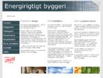 Velkommen til energirigtigtbyggeri. dk