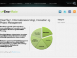 CleanTech, Informationsteknologi, Innovation og Project Management laquo; EnerMate