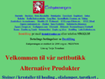 Enhjørningen New Age alternative produkter netthandel