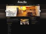 Enjoy Bar; Enjoy Bar Bar, pizzerie a restaurace Praha 8 Kobylisy, rozvoz jídel