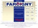 Editions Jean Farcigny a Courbevoie, vente de timbres et d'enveloppes premier jour