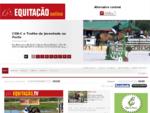 Revista Equitação online