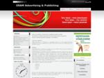 ERAM Advertising Publishing printing, makeup, layout, book design, translation, prepress, cal