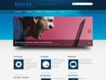 Error24 OÜ | Teie ööpäevaringne arvutiabi!