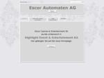 Escor Automaten AG | Schweiz | Duedingen